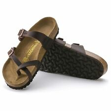 NEW BIRKENSTOCK WOMENS MAYARI HABANA OIL LEATHER SANDAL 37-42 REGULAR FREE SHIP