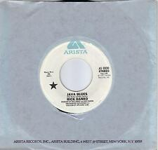 RICK DANKO  Java Blues  rare promo 45 from 1977  THE BAND