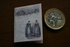 Dolls house - Victorian Fashion Magazine - readable