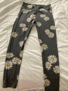 Justice girls daisy leggings size 18-20