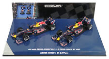 Minichamps Red Bull RB5 1-2 acabado chino GP 2009 Vettel/Webber 2 Coche Set 1/43