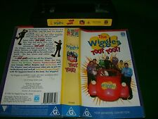 *The Wiggles - Toot, Toot!* 1998 Rare VHS Anthony, Jeff, Greg, Murray & the Gang