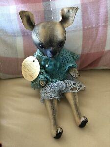Daria Sikora Chihuahua Dog Rag Doll