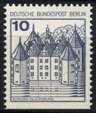 Berlin 1977-1987 SG#B516a 10pf Castles Definitive MNH Imperf Bottom #D72764
