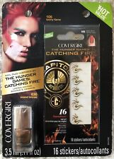 Covergirl The Hunger Games Catching Fire Capitol Collection Nail Art Stickers...