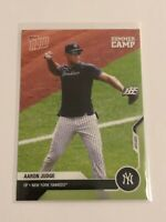 2020 Topps Now Baseball Summer Camp Wave 3 - Aaron Judge - New York Yankees