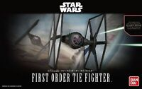 Maquette BANDAI STAR WARS MODEL KIT First Order TIE Fighter 1/72 Made in Japan