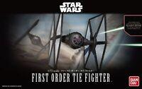 Maqueta Bandai Star Wars Modelo Kit First Order Tie Fighter 1/72 Fabricado en