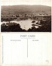 1927 PANORAMIC VIEW  LLANDRINDOD WELLS POWYS WALES UNUSED POSTCARD