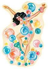 VinTaGe IMaGe ReTRo BuBbLe PiN Up GiRLs ShaBby WaTerSLiDe DeCALs