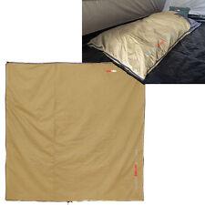 BLACK WOLF QUILT COVER TUFF BYOQ 210x210cm CAMPING OUTDOOR DOONA SLEEPING BAG