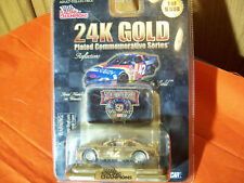 Joe Nemechek Bell South 24K Gold 1/64 Scale with Collector Medallion & Stand