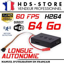 MT300 MODULE CAMERA FULL HD 1080P + MICRO SD 64 GO DIRECT WIFI 60 FPS 720P 480P