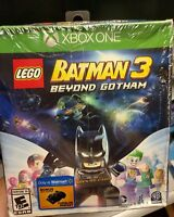 LEGO Batman 3: Beyond Gotham & Bonus Lego Batman Tumbler Miniset (Xbox One,2014)