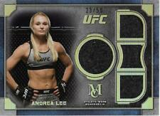 2019 UFC Museum Collection Single-Fighter Quad Relics Andrea Lee/50