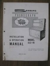 Juke Box Seeburg ELS2-H5 GEM Installation & Operation Manual