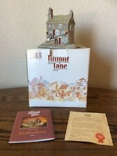 Lilliput Lane Village The Chocolate House 1992 Signed /Original Box & Packaging