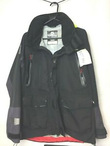 LOT557 Rooster Sale:Passage 3 Layer Jacket Size Medium in Grey/Black. Category D