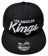 Los Angeles Kings New Era 9Fifty Rear Vintage Script Eazy-E NWA Snapback Hat NHL