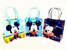 Disney Mickey Mouse  reusable Birthday Party Favor Goodie Gift candy Loot Bags