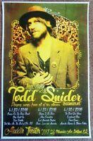 TODD SNIDER 2016 Gig POSTER Portland Oregon Concert