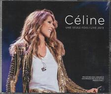 COFFRET 2 CD + DVD CÉLINE DION UNE SEULE FOIS LIVE 2013 NEUF SCELLE 2014
