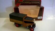 MATCHBOX 1:72 AUTO DIE CAST FODEN STEAM LORRY 1922 MARRONE TATE&LYLE'S ART Y-27