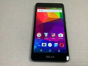 BLU Life XL  8GB - Black Unlocked Smartphone Clean Dual sim