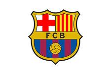 FC BARCELONA STICKER KFZ AUTOAUFKLEBER BUTTON AUTO AUFKLEBER RUND NEU KLEIN 3,5c