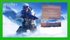 Battlefield V  Morsecode Erkennungsmarke Dog Tag Gamescom 2018 Key PC PS 4 XBOX