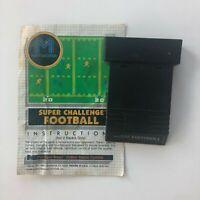 FOOTBALL M NETWORK for Atari 2600 Original Game Cartridge and Manual