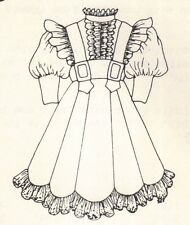 """Sewing outfit Clothes Coat Pattern fits 14"""" Little Darling  Kish Betsy dolls 287"""