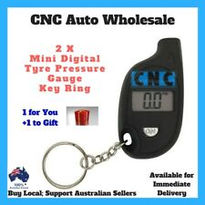 2 x Digital Portable Car Tyre Pressure Gauge Keyring Tool Keychain Tire Test LCD