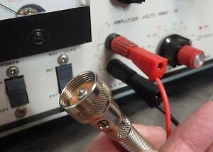 Amphenol 75-MC1F Switchcraft 2051F Equiv to Banana Plug Test Lead Audio Ham