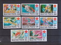 Ungarn 1971 postfrisch MiNr. 2720B-2727B  Olympische Winterspiele 1972 Sapporo
