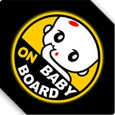 3M Reflective Baby On Board Magnet Sticker Car Sticker Decal 12x12cm Type C
