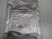 Pitney Bowes 765-3 Red Fluorescent Ink Cartridge New