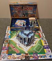 Monopoly Disney Edition Board Game w/ Pop-Up 3D Caste (100% Complete)
