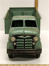 Vintage Marx Lumar Hydaulic Dump Truck Dumper Litho Grille Pressed Steel 1950's