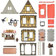 Playmobil Cerámica Casa de Madera Castillo Del Caballero Klicky 6524 3455