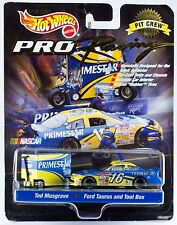 Hot Wheels Pro Racing #16 Primestar Ted Musgrave Pit Crew Taurus w/Tool Box