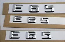 E677 E65 Emblem Badge auto aufkleber 3D Schriftzug Plakette car Sticker Neu