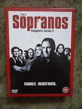 The Sopranos - Series 2 - Complete (DVD, 2003, 4-Disc Set)