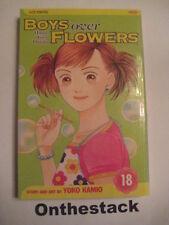 MANGA:    Boys over Flowers (Hana Yori Dango) Vol. 18 by Yoko Kamio (2006)