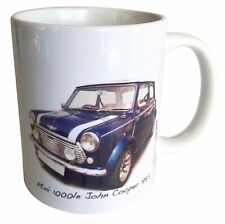Mini 1000le 'John Cooper' 1985 Ceramic Mug - Great Gift for the Car Enthusiast
