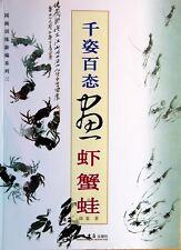 Manuel Peinture Chinoise-Chinese painting book-pittura cinese-pintura-Crevettes