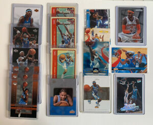 Carmelo Anthony Lot(17) RC Rookie Upper Deck Fleer Topps Panini