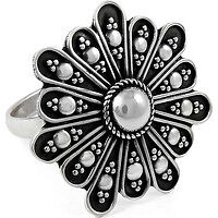 Beautiful Rava Work 925 Silver Ring Wholesale