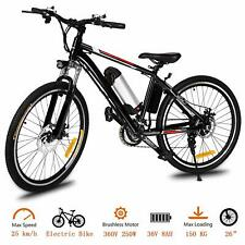 Ancheer 250w Power Electric Mountain Bike With Removable Lithium-ion Battery