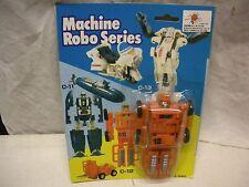 TRANSFORMER MACHINE ROBO SERIES #12 FORKLIFT MINT ON CARD